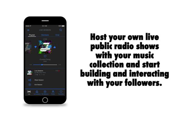 BlueJay Music - Social Radio