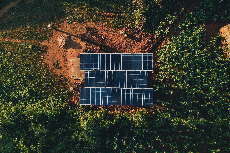 kuva aurinkokennoista
