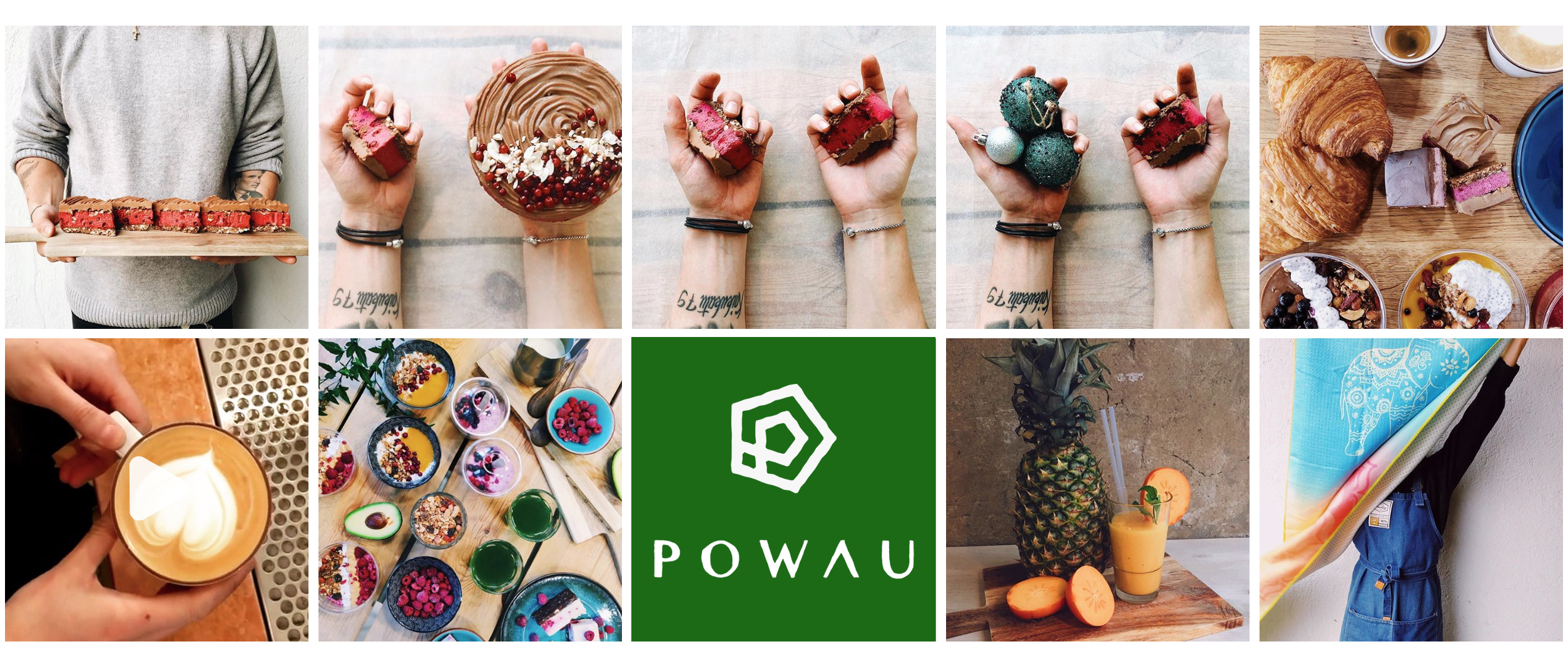 image of POWAU brand/products