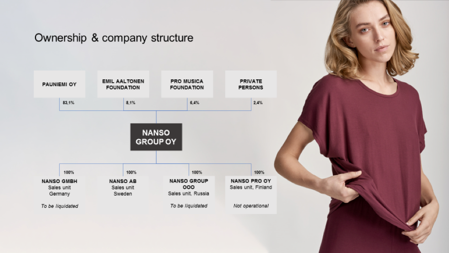 Nanso ownership and company structure